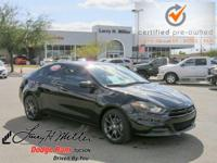 Options:  2016 Dodge Dart Se|Black/|V4 2.0 L
