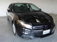 2016 Dodge Dart SXT 4D Sedan Pitch Black Clearcoat 2.4L