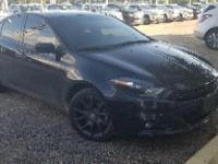Pitch Black Clearcoat 2016 Dodge Dart SXT FWD 6-Speed