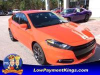 Go Mango exterior, SXT trim. EPA 35 MPG Hwy/23 MPG