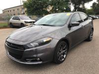 The 2016 Dodge Dart is a sporty mid-sized sedan. Some