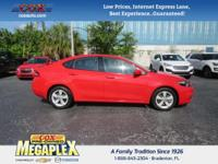 This 2016 Dodge Dart SXT in Torred is well equipped