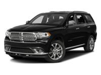 One Owner & Low Miles 2016 Dodge Durango Citadel!
