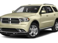 2016 Dodge Durango Limited in Red Pearl Coat vehicle