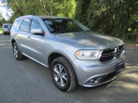 Introducing the 2016 Dodge Durango! It comes equipped