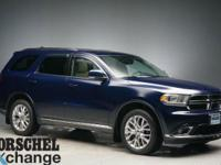 loaded!!Blue 2016 Dodge Durango LimitedAWD, Navigation