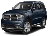 Options:  2016 Dodge Durango Limited Miles: 15017Color:
