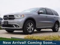 2016 Dodge Durango Limited in Billet Silver Metallic