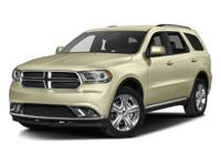 2016 Dodge Durango Limited new tires $800, new brakes $