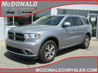 Options:  2016 Dodge Durango Limited All-Wheel