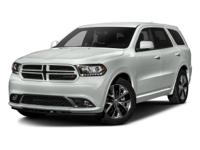 Come see this 2016 Dodge Durango R/T. Its Automatic
