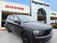 2016 Dodge Durango R/T. This full size SUV has a