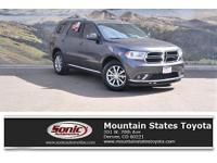 Look at this 2016 Dodge Durango SXT. Its Automatic