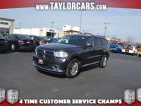 Come in today to check out our Dodge Durango's rugged