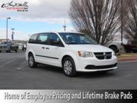 This 2016 Dodge Grand Caravan American Value Pkg is