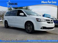 New Price! This 2016 Dodge Grand Caravan R/T in White