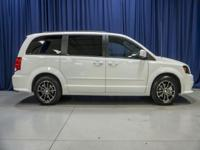Clean Carfax One Owner Minivan with Steering Audio