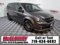 Loaded 2016 Grand Caravan R/T with Navigation, DVD