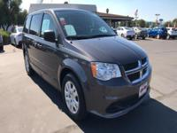 Introducing the 2016 Dodge Grand Caravan! Demonstrating