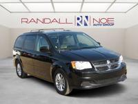 Black 2016 Dodge Grand Caravan SXT FWD 6-Speed