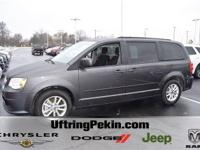 This is a 2016 Dodge Grand Caravan SXT with only 27K