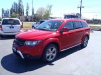 CARFAX One-Owner. 2016 Dodge Journey Crossroad Redline