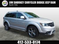 Recent Arrival! 2016 Dodge Journey Crossroad CARFAX