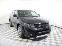 Pitch Black Clearcoat 2016 Dodge Journey Crossroad FWD