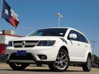 2016 Dodge Journey White 6-Speed Automatic Journey R/T,