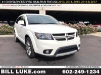 Options:  2016 Dodge Journey R/T|White|3Rd Row