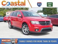 This 2016 Dodge Journey R/T in Red Line features: FWD