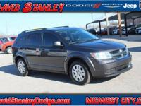 CARFAX One-Owner. Gray 2016 Dodge Journey SE FWD