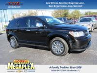 This 2016 Dodge Journey SE in Black is well equipped