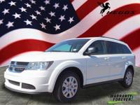White 2016 Dodge Journey SE FWD 4-Speed Automatic VLP