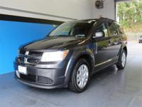 CARFAX One-Owner. Clean CARFAX. Gray 2016 Dodge Journey