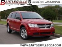 Clean CARFAX. 2016 Dodge Journey SE FWD 4-Speed