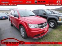 Journey Dodge 26/19 Highway/City MPG 2.4L I4 DOHC 16V