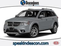 REDUCED FROM $19,995!, EPA 24 MPG Hwy/16 MPG City! SXT