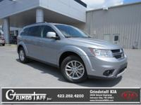 This 2016 Dodge Journey SXT, has a great Billet Silver