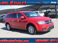 CARFAX One-Owner. Clean CARFAX. Red 2016 Dodge Journey