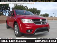 Options:  2016 Dodge Journey Sxt|Red|All Performed