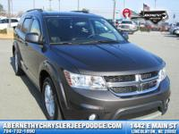 Options:  2016 Dodge Journey Sxt|New Price! Certified.