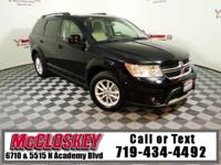 Fit it all in this 2016 Dodge Journey! Third Row Seat,