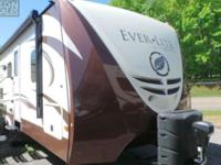 The all-composite Ever-Lite travel trailer is the