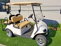 2016 EZGO ez-go TXT Tan 4 Passenger Seat Golf Cart Car