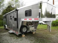 New 2016 Featherlite 3 horse trailer is 8 amp 039 wide,