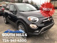 2016 Fiat 500X Trekking **Bluetooth/MP3**, ONE OWNER