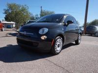 Delivers 40 Highway MPG and 31 City MPG! This FIAT 500