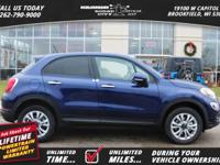 Options:  2016 Fiat 500X Easy|Tax|Title|License And