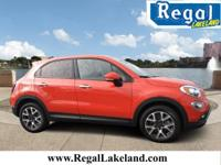Recent Arrival! 31/22 Highway/City MPG Orange 2016 Fiat